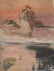 A magic carpet, by Viktor Vasnetsov